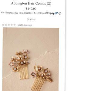 BHLDN Abbington Hair Combs (2)